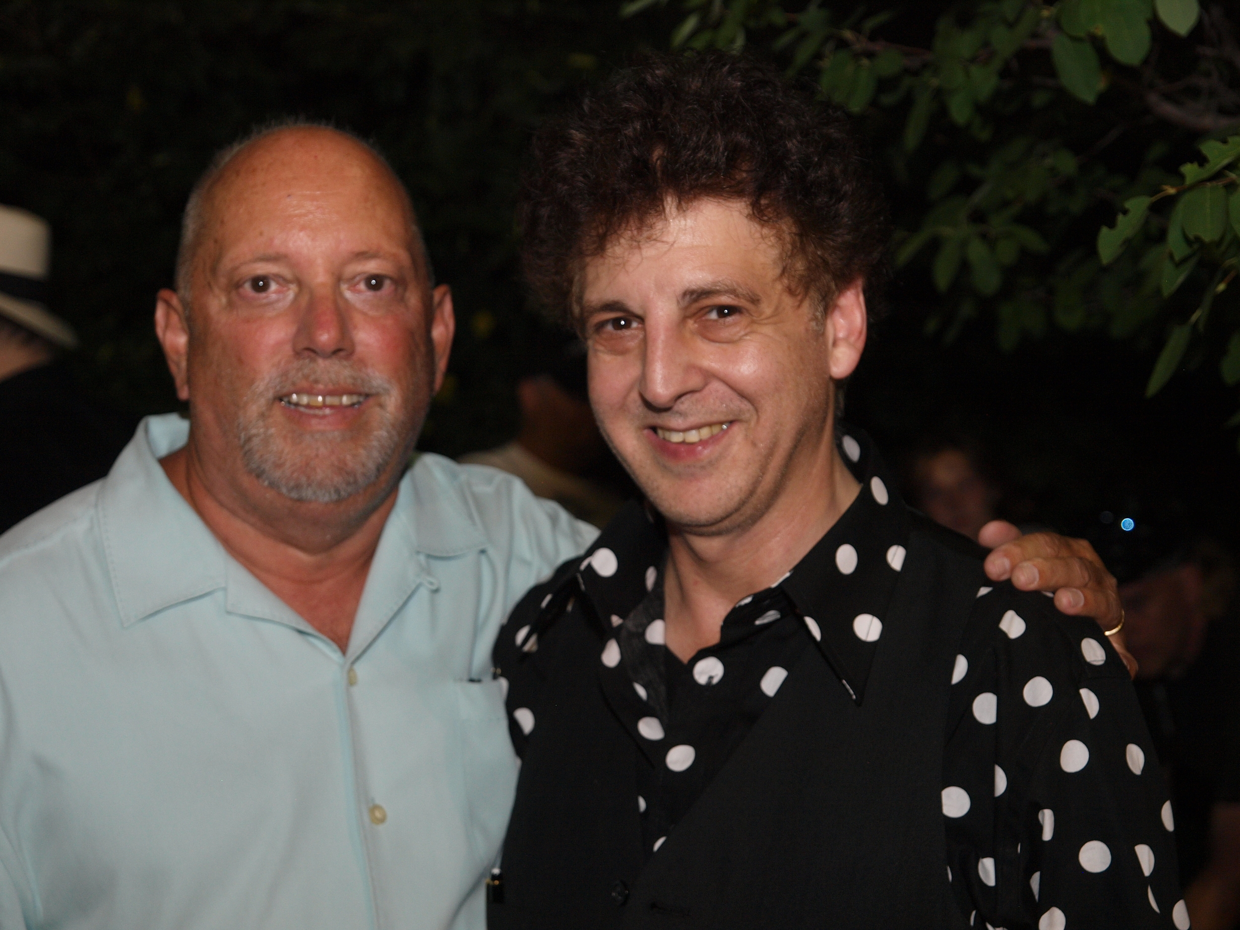 Kenny Krona and Magic Marc / Salute to the Music of Bob Dylan / The Veterans' Memorial Wolfe Park Amphitheater / St. Louis Park, Minnesota / August 9th, 2014 / Photo by Neil Schloner