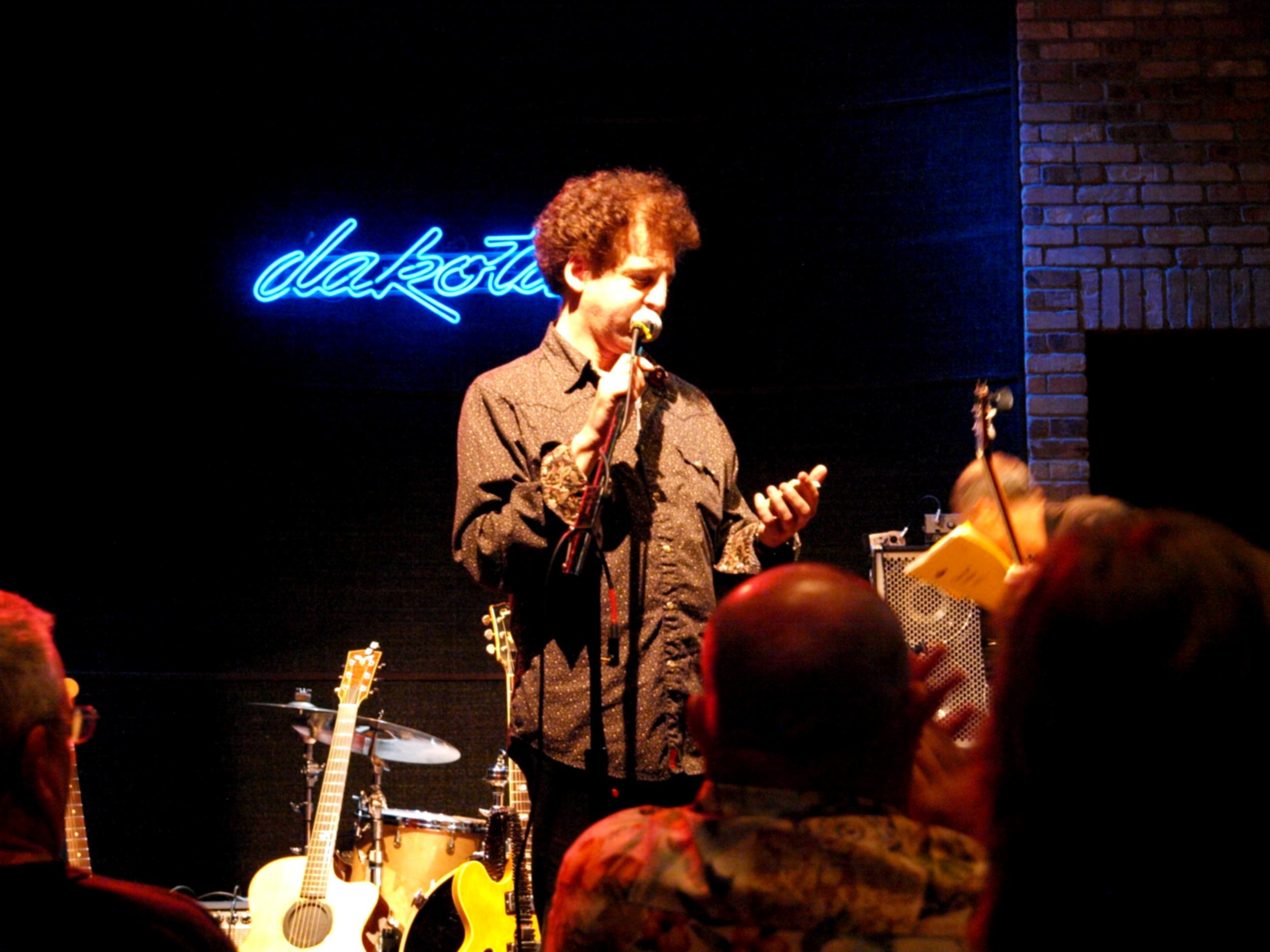 Magic Marc / An Evening With Scarlet Rivera / Dakota Jazz Club & Restaurant / Minneapolis, Minnesota / August 10th, 2014 / Photo by Neil Schloner