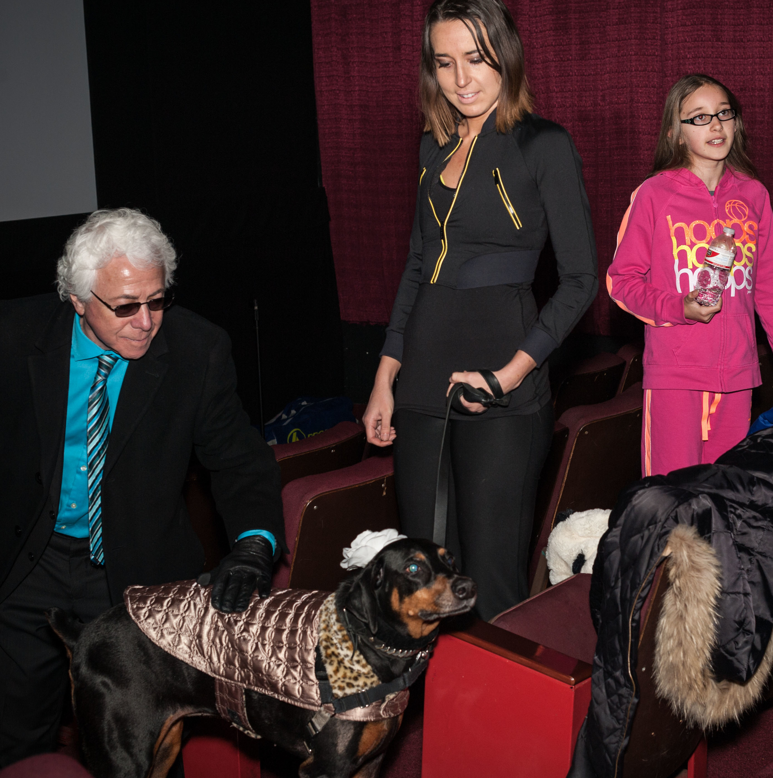 Gene Gittelson, Ruby, Liza and Johanna Ree / Trylon microcinema / Minneapolis, Minnesota / November 20th, 2014 / Photo by Gamini Kumara