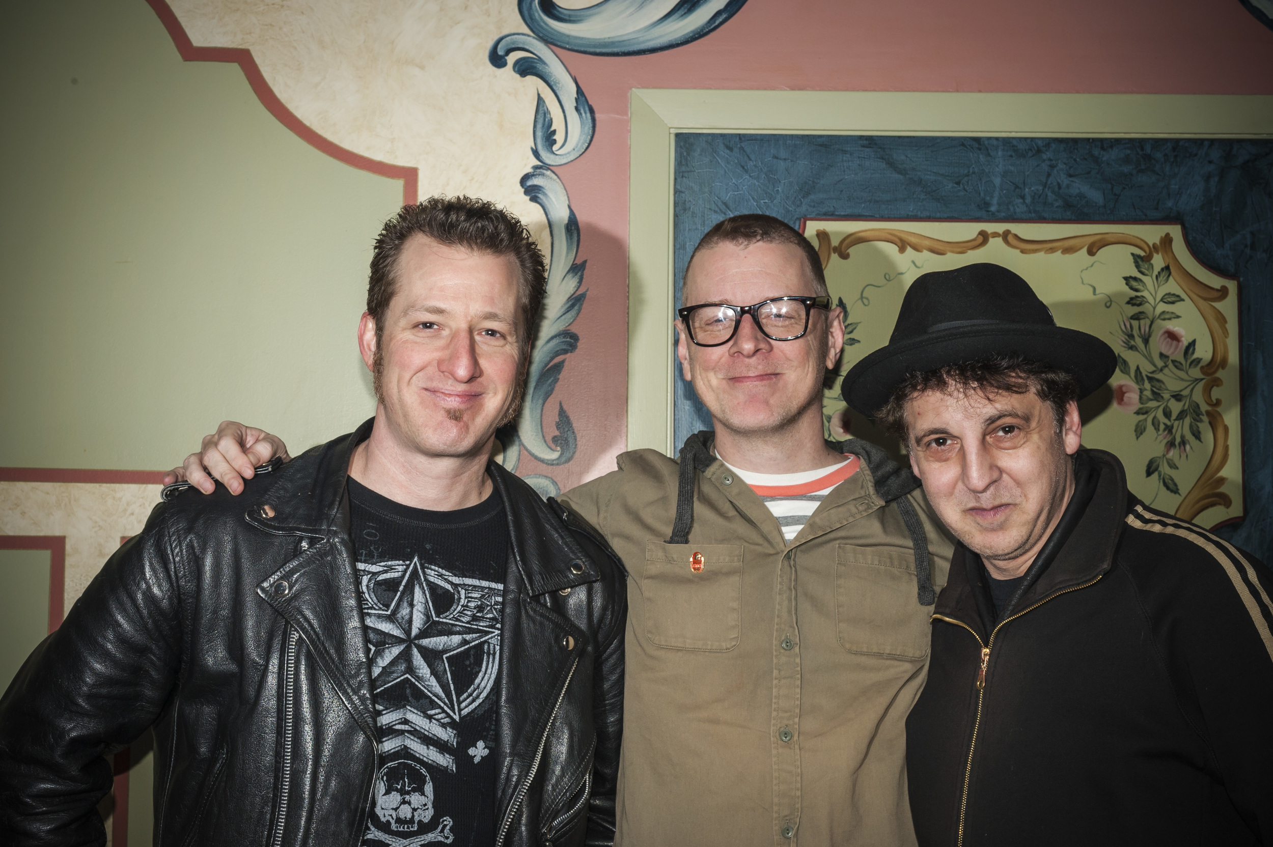 Mike Leonard, John Paulson and Magic Marc / Black Forest Inn / Minneapolis, Minnesota / January 29th, 2015 / Photo by Gamini Kumara