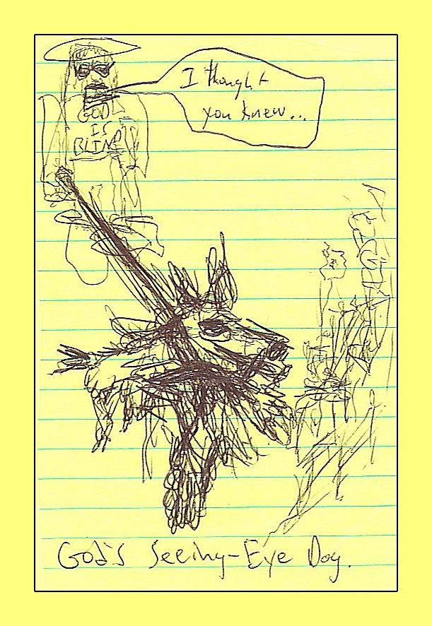 God's Seeing-Eye Dog - Illustration by Michael Johnson (2011)