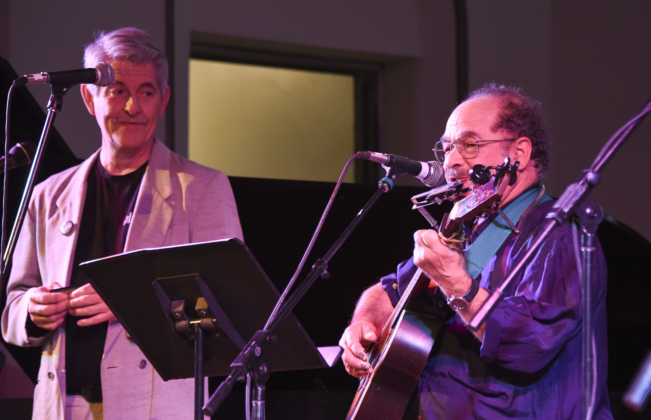 Ed Newman and Eliot Silberman / Sacred Heart Music Center / Duluth, Minnesota / May 23rd, 2015 / Photo by Michael K. Anderson