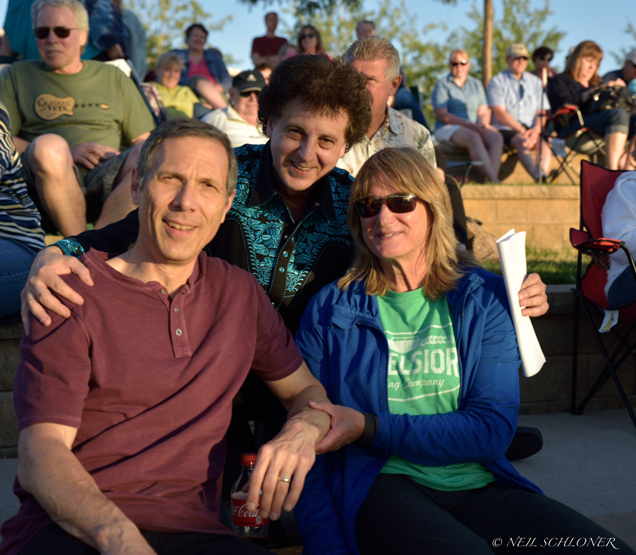 Gary Lopac, Magic Marc and Lois Sortedahl / Town Green Amphitheatre / Maple Grove, Minnesota / June 15th, 2015