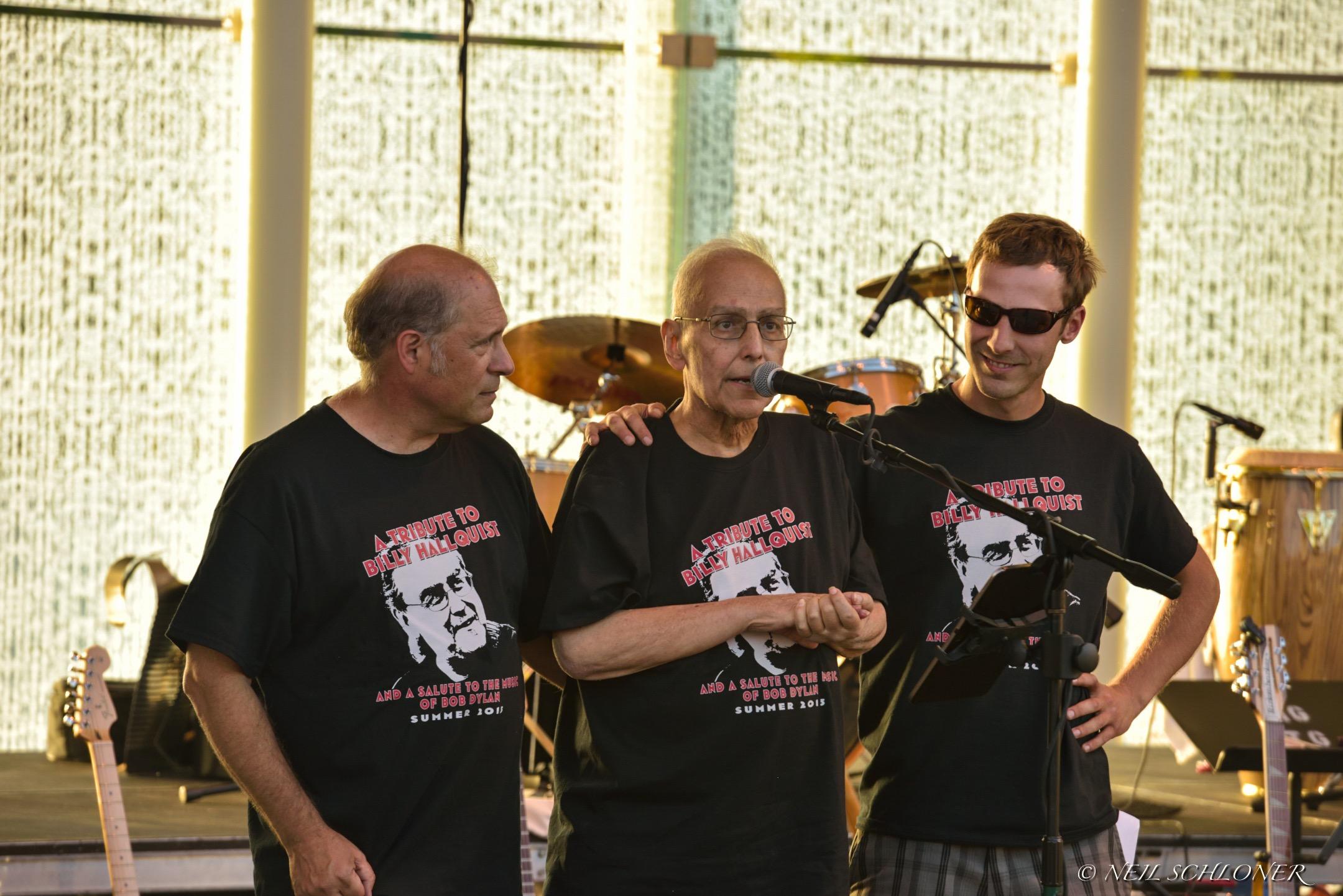 Mark Lamoine, Billy and Dan Hallquist / Town Green Amphitheatre / Maple Grove, Minnesota / July 29th, 2015
