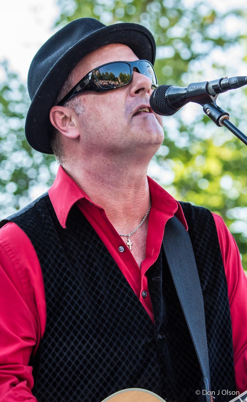 James Loney / The Veterans' Memorial Wolfe Park Amphitheater / St. Louis Park, Minnesota / August 1st, 2015