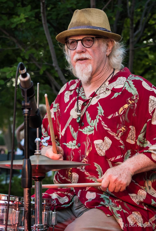 Scott Sansby / The Veterans' Memorial Wolfe Park Amphitheater / St. Louis Park, Minnesota / August 1st, 2015