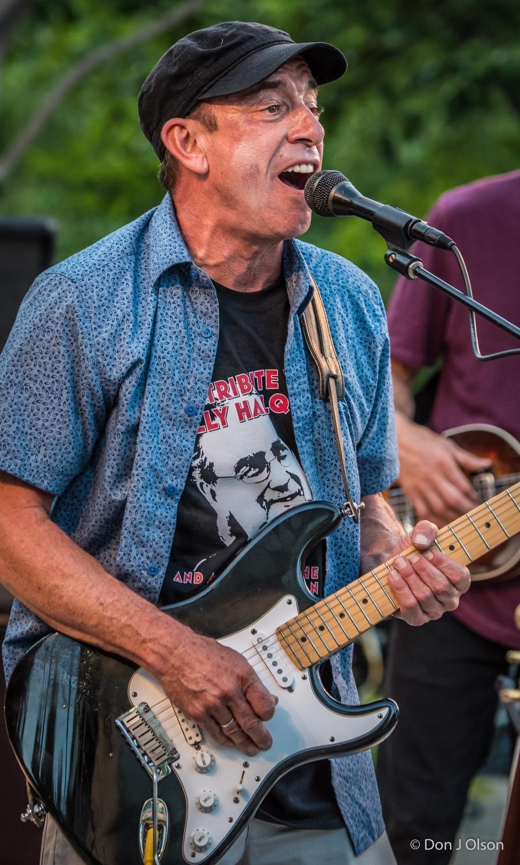 Steve Grossman / The Veterans' Memorial Wolfe Park Amphitheater / St. Louis Park, Minnesota / August 1st, 2015
