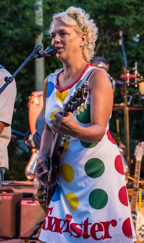 Barbara Meyer / The Veterans' Memorial Wolfe Park Amphitheater / St. Louis Park, Minnesota / August 1st, 2015