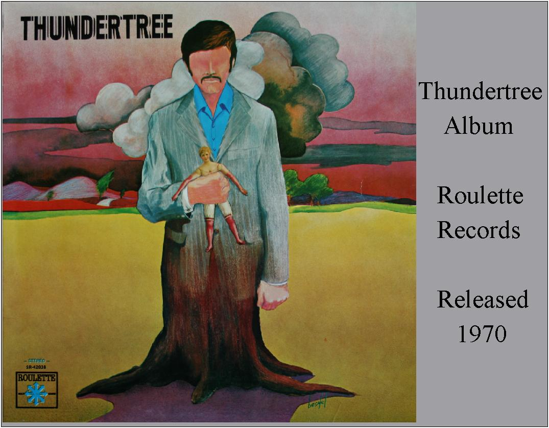 Thundertree - Original Roulette Records Album Cover (1970)