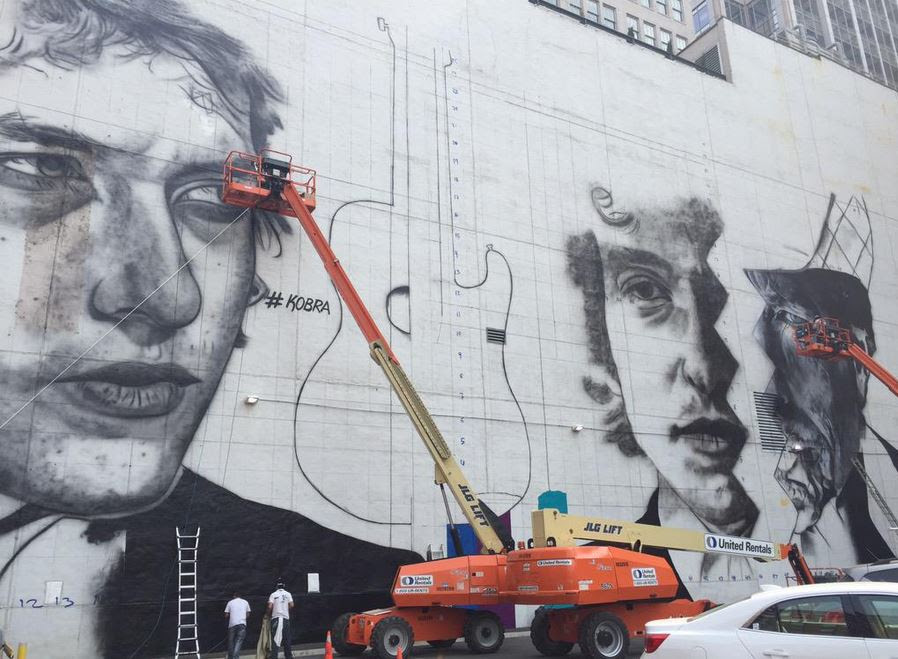 Massive Bob Dylan mural to cover building in downtown Minneapolis