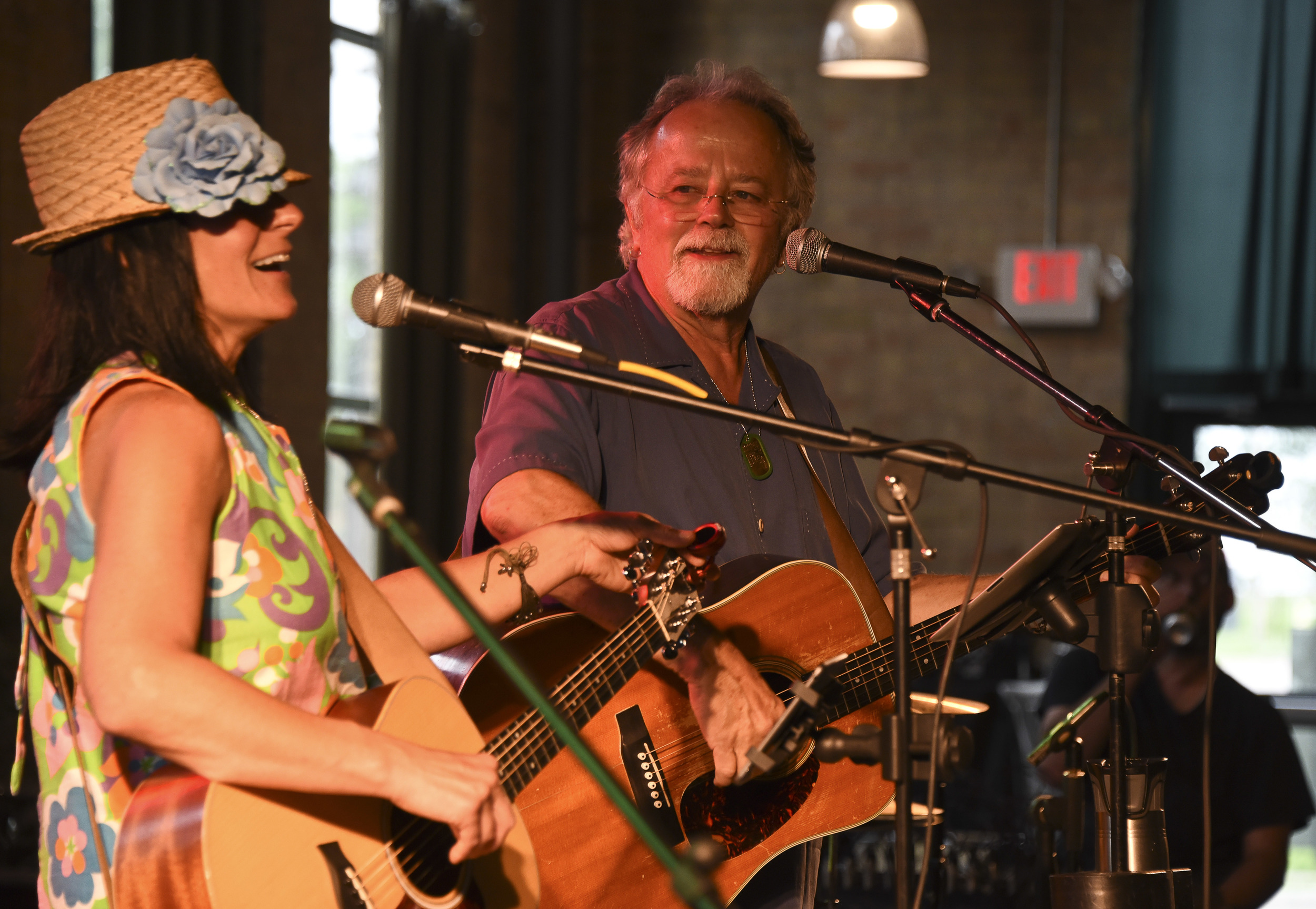 Amy Grillo and Gene LaFond / Clyde Iron Works / Duluth, Minnesota / September 6th, 2015 / Photo by Michael K. Anderson.
