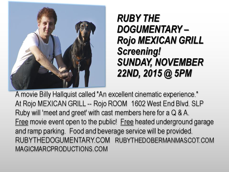 RUBY At Rojo - Slide from  ParkTV 15/96  by John McHugh