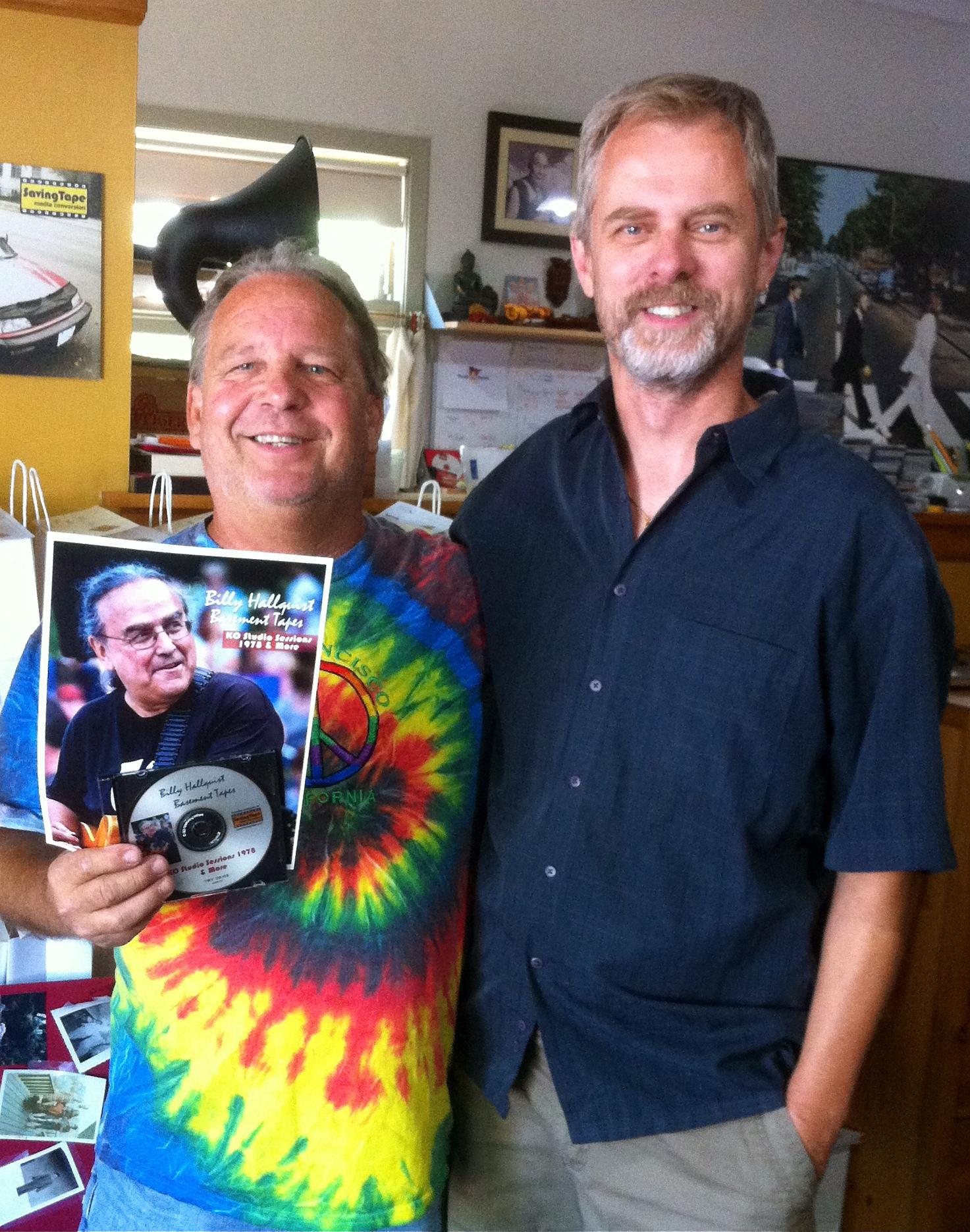 Billy Hallquist Basement Tapes - Mark Lapakko and Thor Anderson / Saving Tape / Minneapolis, Minnesota /July 29th, 2016