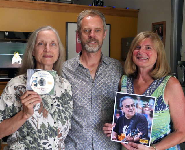 Billy Hallquist Basement Tapes - Gail C. Bell, Thor Anderson and Diane Christopherson / Saving Tape  / Minneapolis, Minnesota / July 30th, 2016