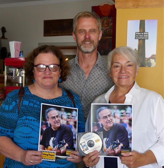 Billy Hallquist Basement Tapes - Kate Marple, Thor Anderson and Kris Hansen Anderson / Saving Tape  / Minneapolis, Minnesota / July 30th, 2016