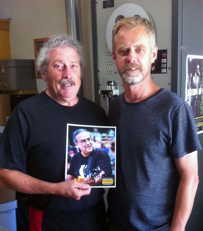 Billy Hallquist Basement Tapes - Rubin Latz and Thor Anderson / Saving Tape  / Minneapolis, Minnesota / July 29th, 2016