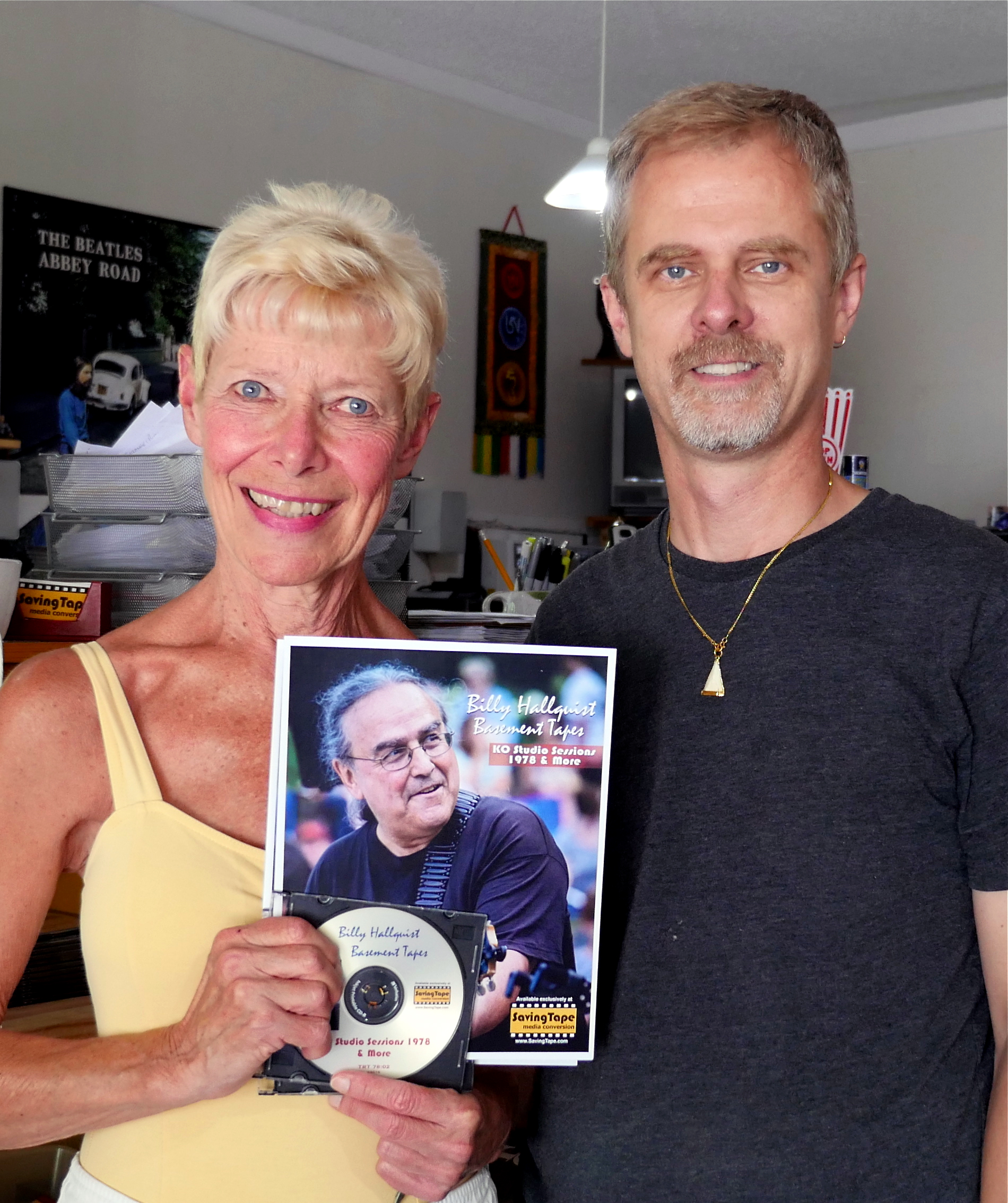 Billy Hallquist Basement Tapes - Carol Thomas and Thor Anderson / Saving Tape  / Minneapolis, Minnesota / August 1st, 2016