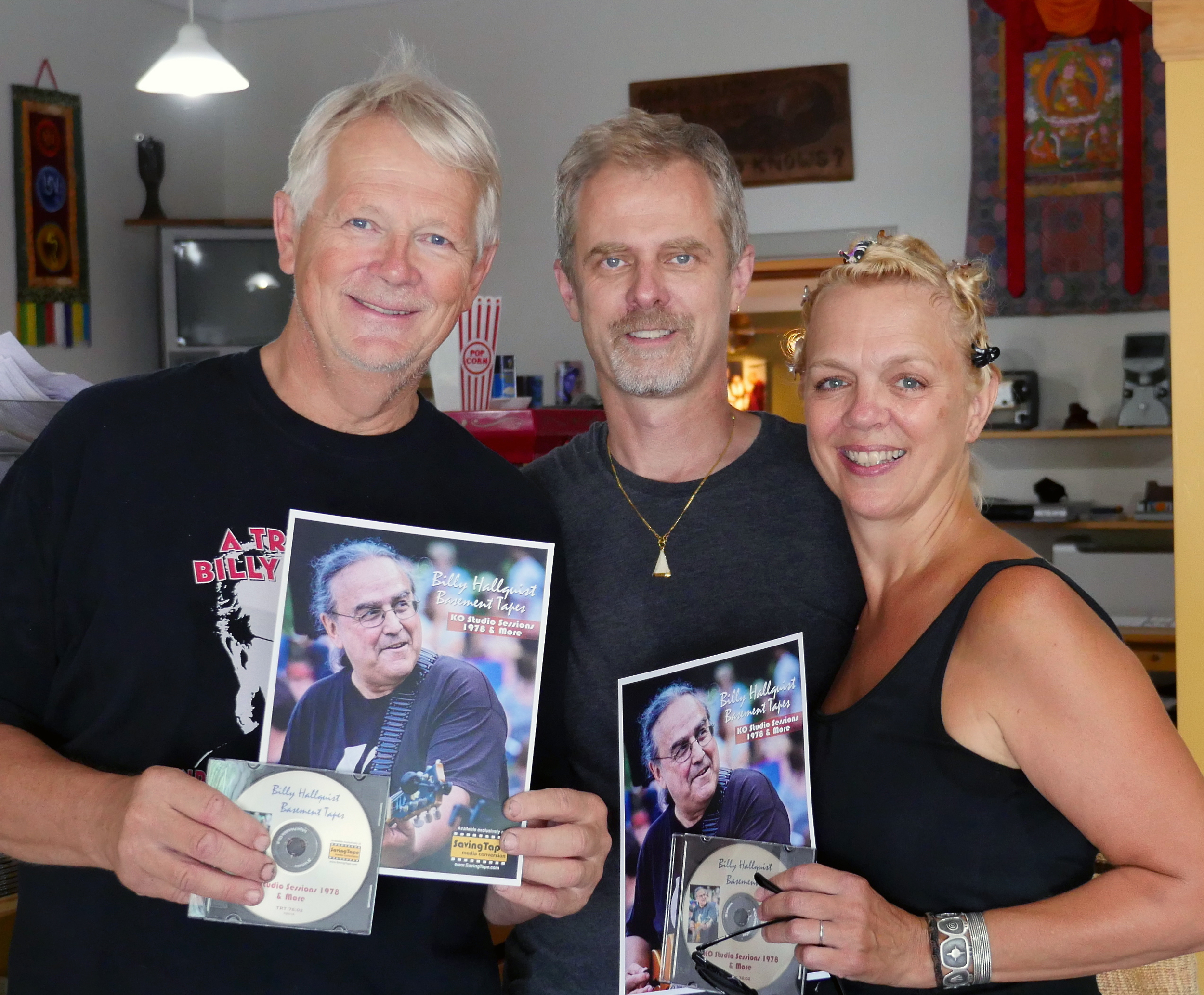 Billy Hallquist Basement Tapes -Thomas Thompson, Thor Anderson and Barbara Meyer / Saving Tape  / Minneapolis, Minnesota / August 1st, 2016