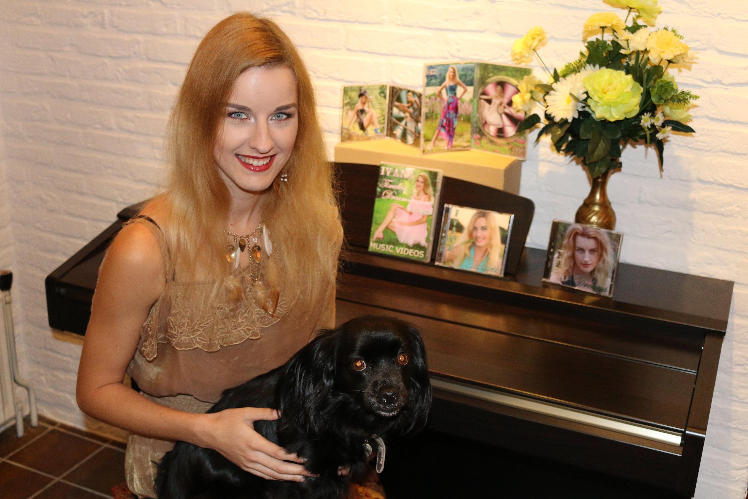 "Ivana Raymonda van der Veen and Sophie -  9 Digital Pictures from ""CD / DVD Official Video Trailer"""