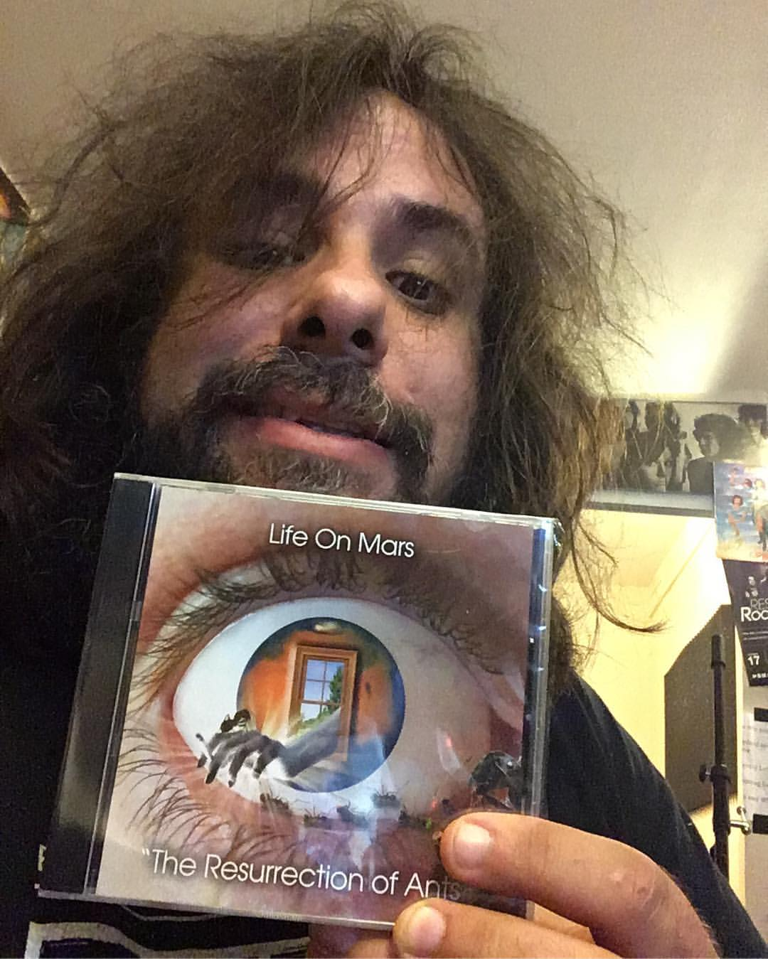 "Fernando Perdomo - Mailman brought me my own copy of "" The Resurrection of Ants "" by Life On Mars. Very proud of this record!"