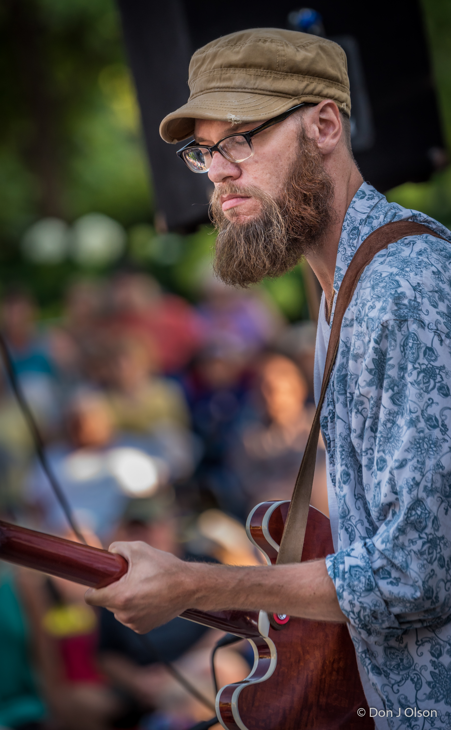 Andrew Wozniak / The Veterans' Memorial Wolfe Park Amphitheater / St. Louis Park, Minnesota / July 29th, 2017