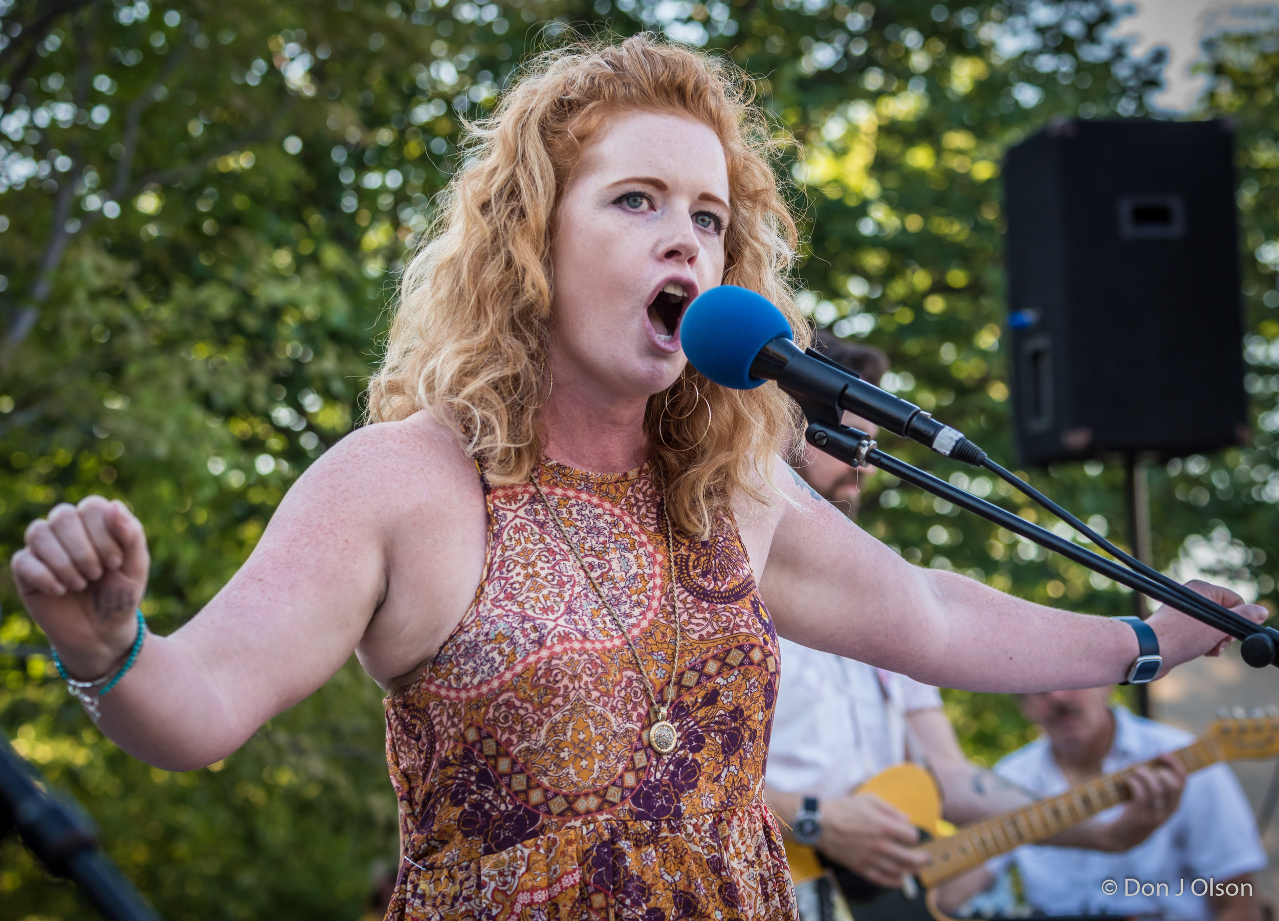 Hailey Woodfill / The Veterans' Memorial Wolfe Park Amphitheater / St. Louis Park, Minnesota / July 29th, 2017