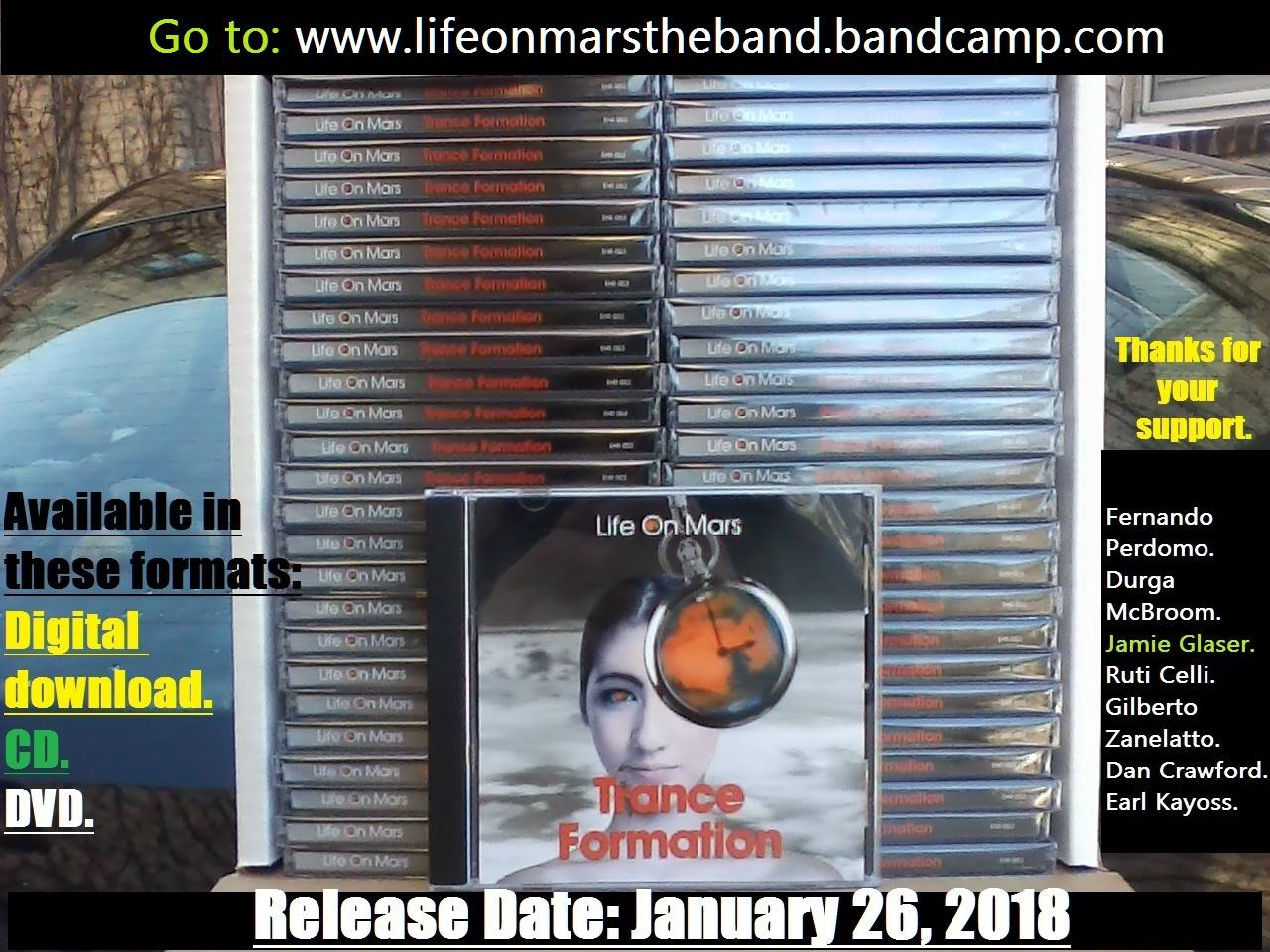 Life On Mars - Trance Formation  51 CD's