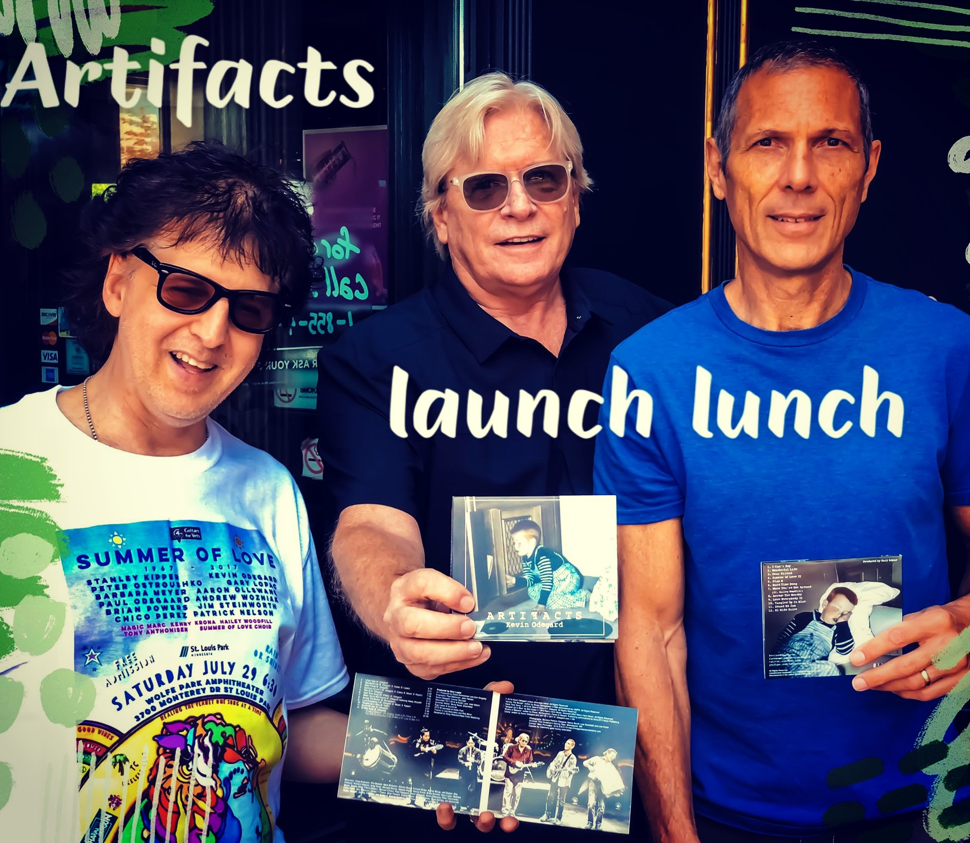 Magic Marc, Kevin Odegard and Gary Lopac - ARTIFACTS (Compact Disc - CD)  The Claddagh Irish Pub & Restaurant  Maple Grove, MN / August 9th, 2018