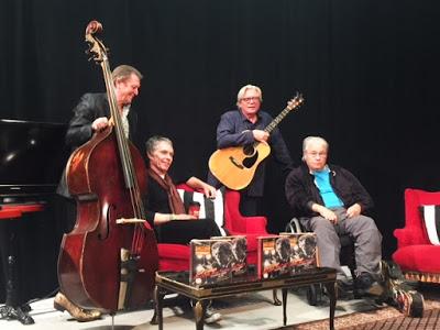 (L to R) Billy Peterson, Gregg Inhofer, Kevin Odegard, Peter Ostroushko