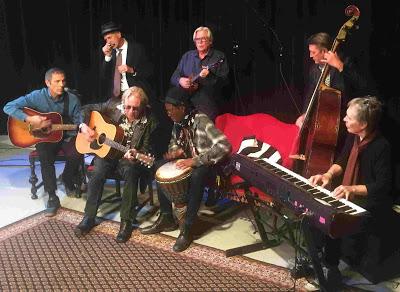 Back row: Sonny Earl, Kevin Odegard, Billy Peterson Front row: Gary Lopac, Paul Metsa, Stan Kipper, Gregg Inhofer.