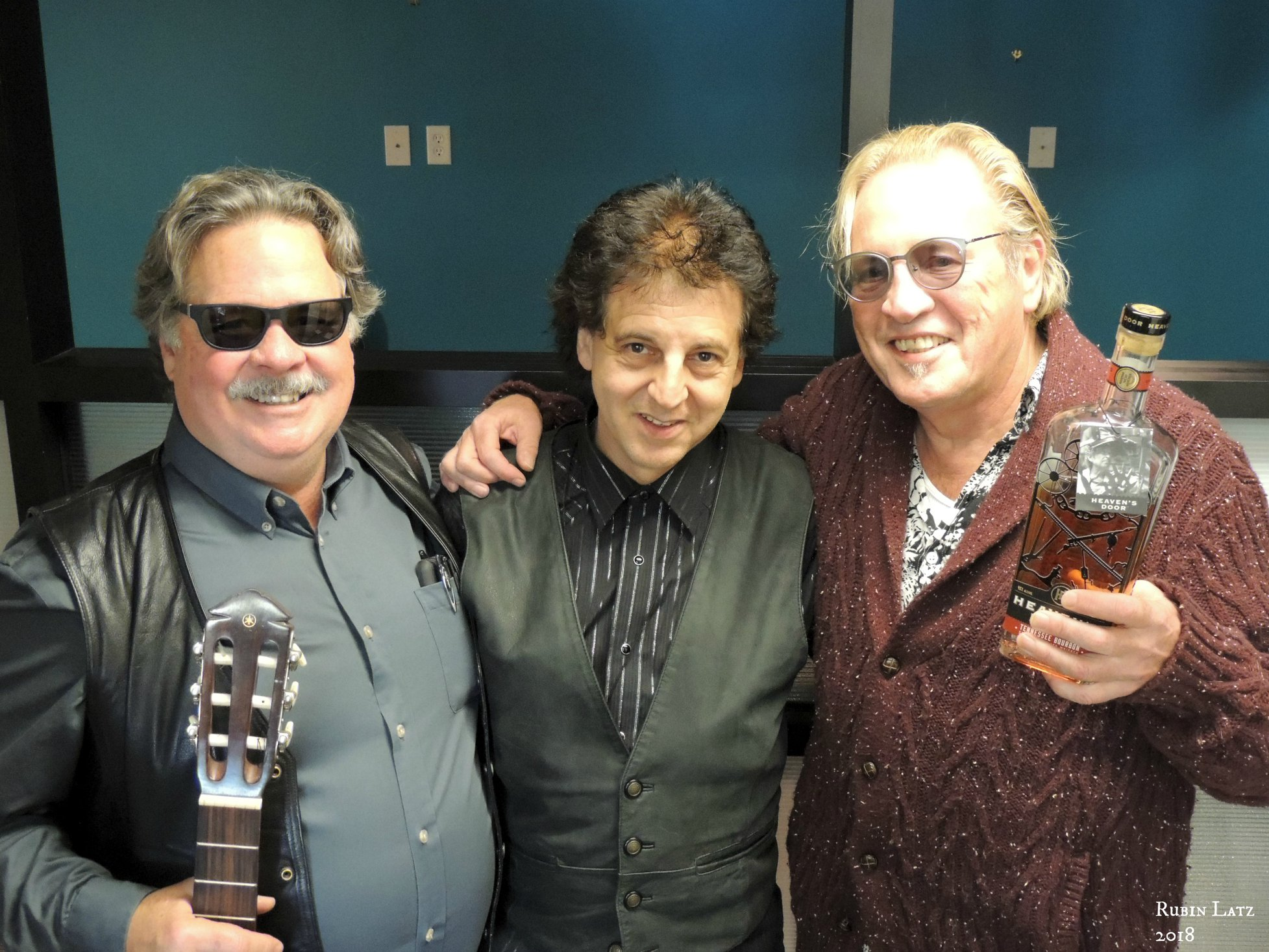 Nelson T. French, Magic Marc and Paul Metsa with  Heaven's Door Whiskey  Wall Of Power TV - Bob Dylan's More Blood, More Tracks - The Minneapolis Sessions  Metro Cable Network - Channel 6  Minneapolis, MN / October 23rd, 2018