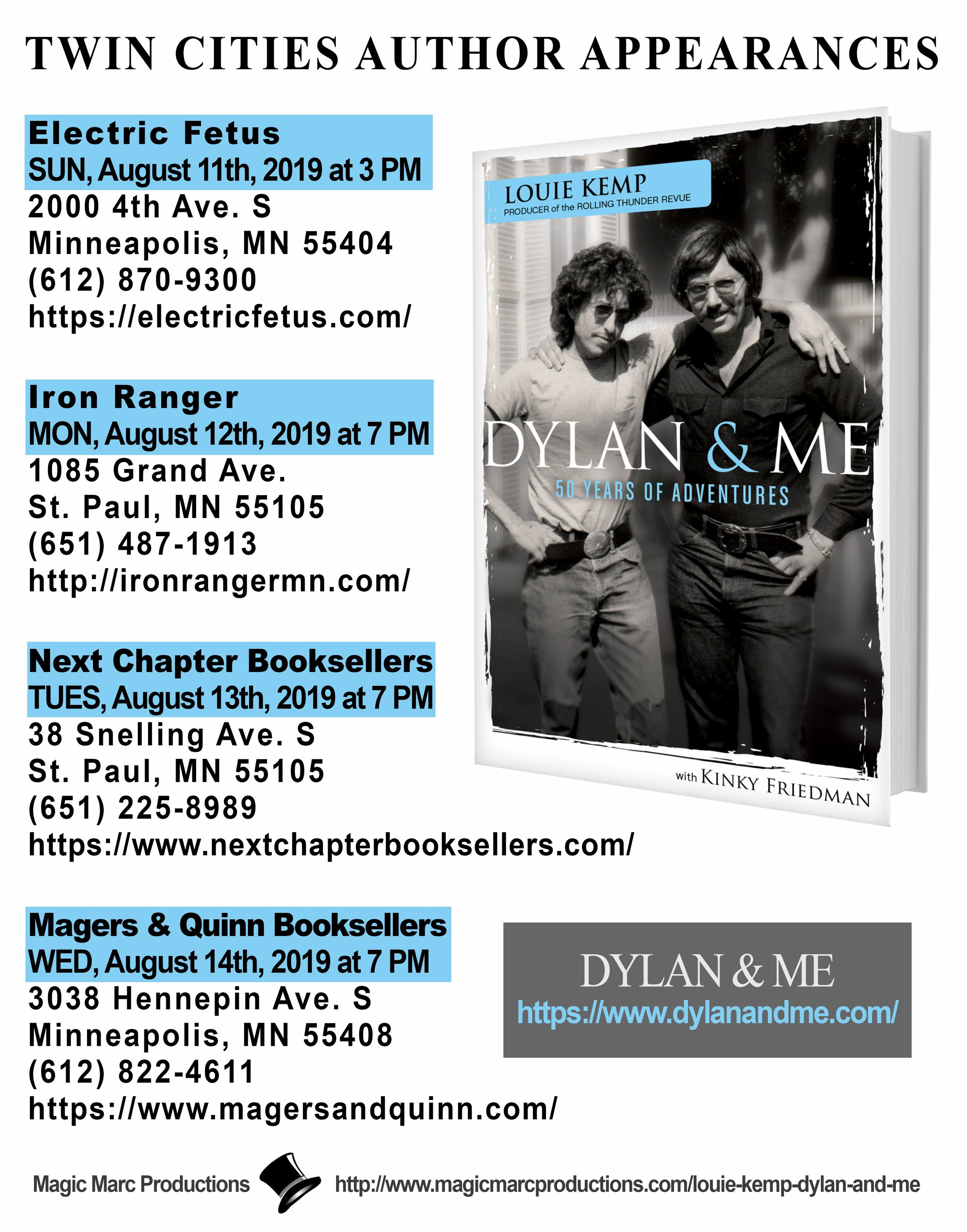 LOUIE KEMP - DYLAN & ME - TWIN CITIES APPEARANCES.jpg