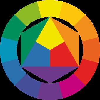 Der Farbkreis nach Johannes Itten
