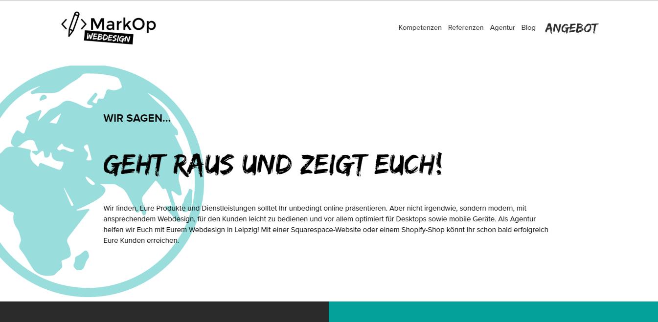 Split-Domain markop-webdesign.de