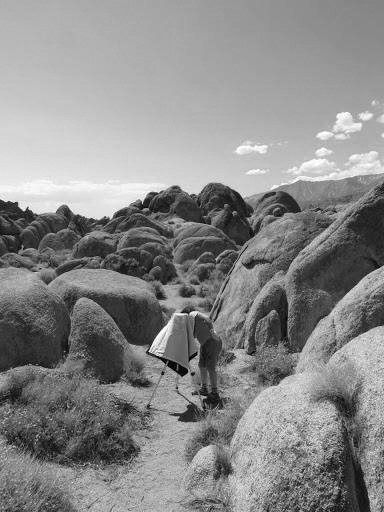 Jenny in the Alabama Hills, California, 2015 by David Grossman.