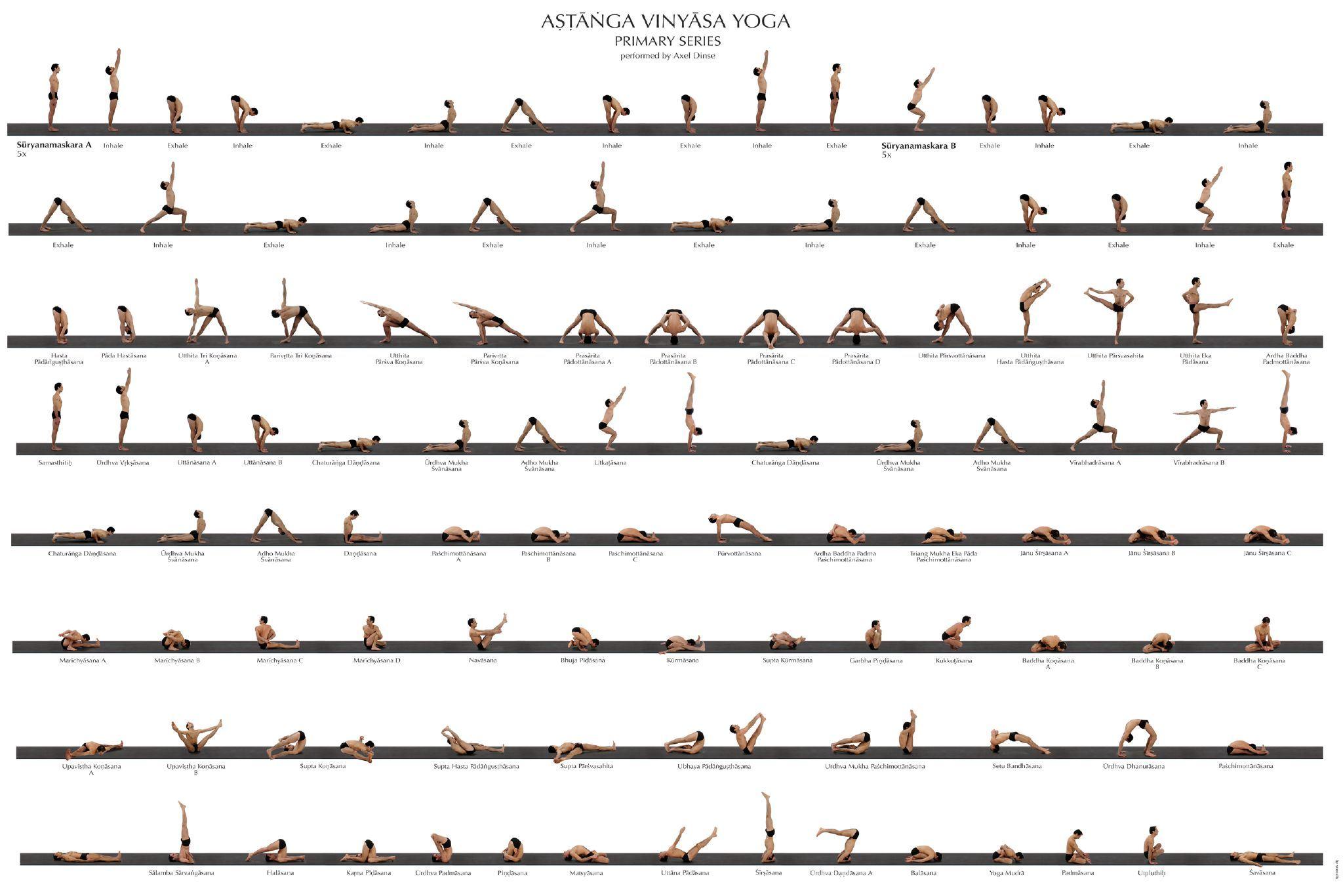 Ashtanga Primary Series Sequence