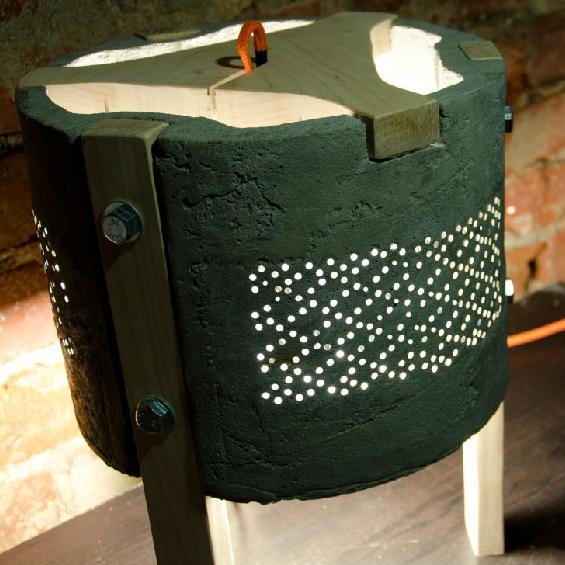 Translucent Concrete Lamp