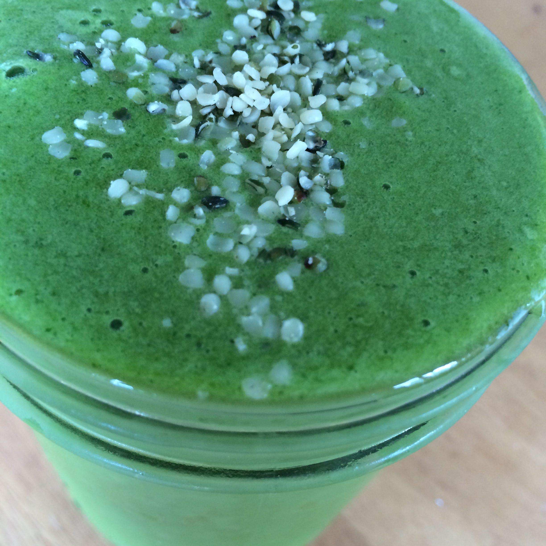 Delicious green smoothie!