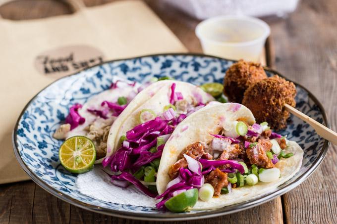 Kalsada: sisig tacos. Photo: HungryBrownie.com