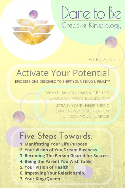 If you upgrade to  GOLD you will have an Activate Your Potential session with me.