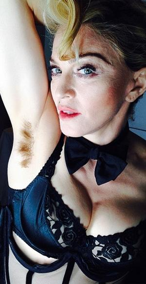 Madonna, in all her unbashed glory.