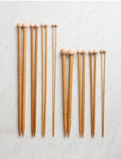 KNITTING NEEDLES (your yarn label will provide a suggested needle size. For chunky, it's generally size 11, 13, or 15)