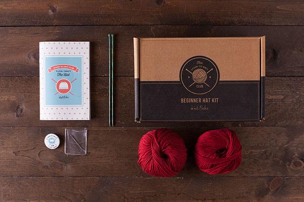 KnitPicks knitting kit