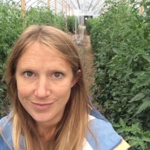 Megan Gambril, Garden Manager of Carriage House Farms
