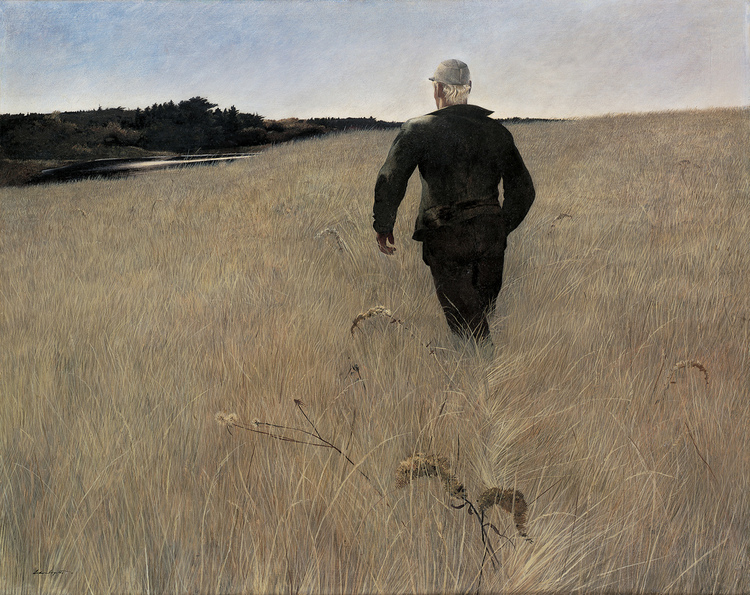 """Turkey Pond"" by Andrew Wyeth"