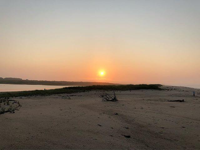 #lughnasadh #dawn on #marthasvineyard this #morning #lugh #high #summer #celtic #sun #god #paganism #irishpagan #pagan #nature #worship