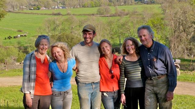Helen, Martha, Kyle, Grace, Kate, Mac