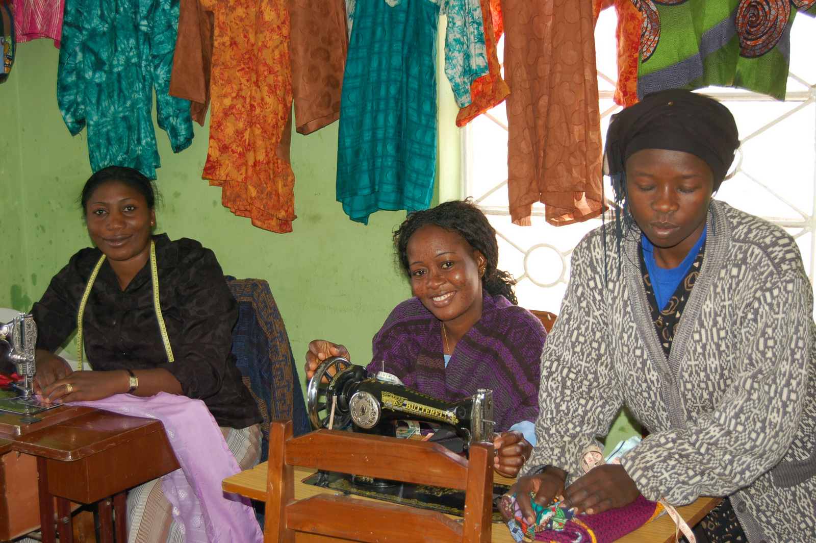 Sewing Vocational Training Class