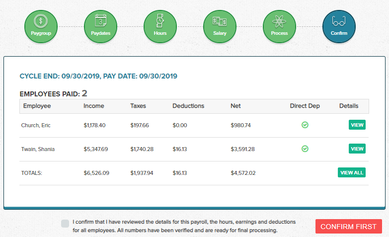 Wagepoint Review Payroll