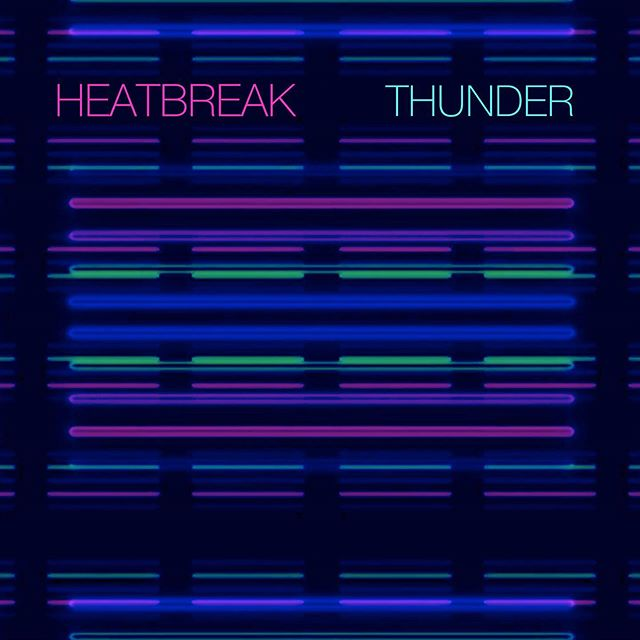 "New music from @heatbreakmusic out today. ""Thunder"" is live and streamable.  Produced by @lewis_pesacov Co-written with @nickyshimz Check it out🌴🔥#synths #newmusic #newage #scifi #synthmania #progrock #electronicmusic #livedrums  #summervibes #2019 #jams"